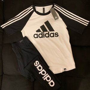 DOPE ADIDAS OUTFIT NWT SIZE M